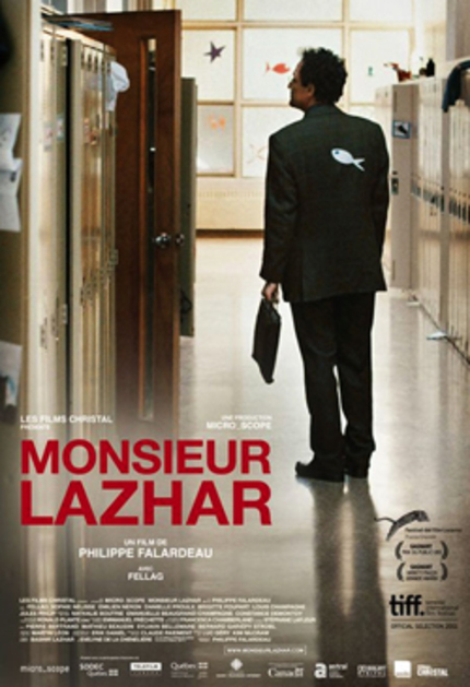 Canada's MONSIEUR LAZHAR And 62 Other Hopefuls Complete Oscar Foreign Language List