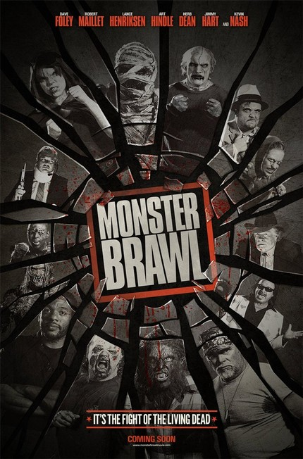 First Poster For Canuck Horror-Action-Comedy MONSTER BRAWL!