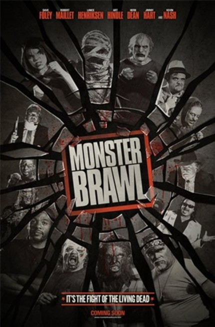 It's The Fight Of The Living Dead! First Teaser For MONSTER BRAWL!