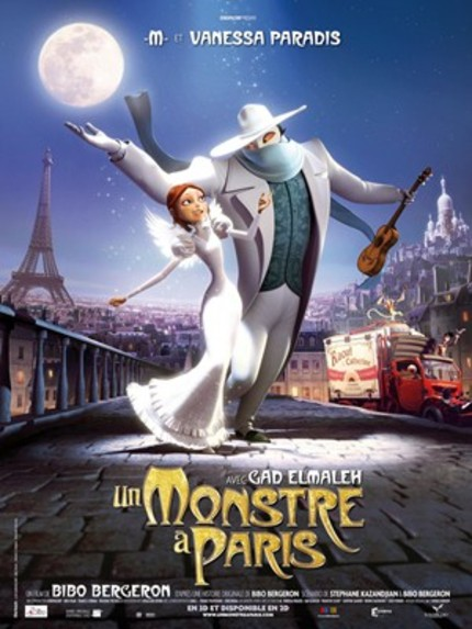 TIFF 2011: English Trailer For Besson-Produced Animated Film A MONSTER IN PARIS