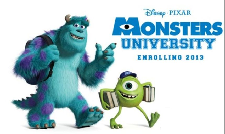 Here Are Four Versions Of The First Teaser Trailer For Pixar's MONSTERS UNIVERSITY!