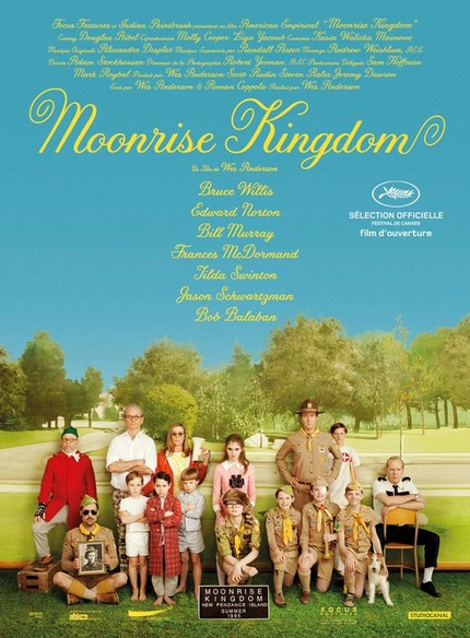 French Poster For Wes Anderson's MOONRISE KINGDOM