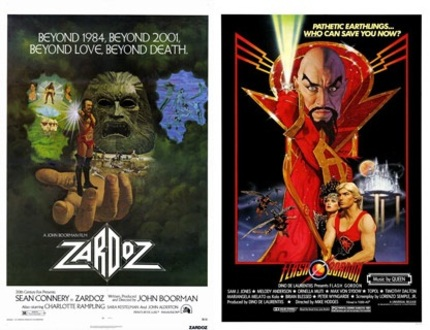 The Movie Club Podcast talks Zardoz and Flash Gordon