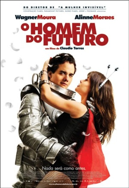 First Trailer For Brazilian SciFi Comedy O HOMEM DO FUTURO