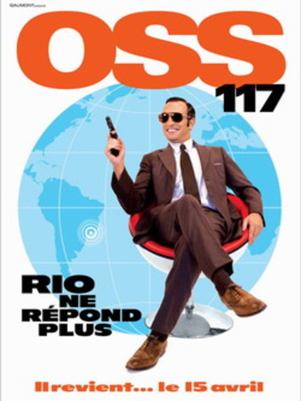 OSS 117: RIO NE RÉPOND PLUS / OSS 117: LOST IN RIO: Interview With Michel Hazanavicius