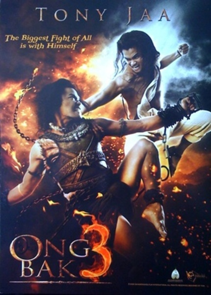 AFM 09: Fresh Art And Plot Details From Tony Jaa's ONG BAK 3!