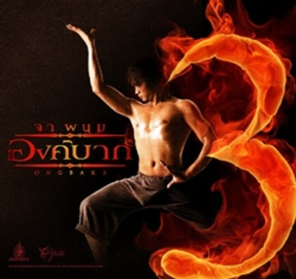 Is Tony Jaa Time-Hopping Again?  The First ONG BAK 3 Artwork Suggests Yes.
