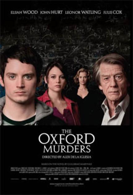 Álex De La Iglasia's The Oxford Murders finally getting released in the US