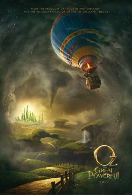 OZ THE GREAT AND POWERFUL Trailer Blows Into Town