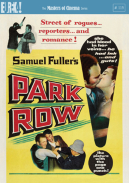 Read All About It! Masters of Cinema Bringing Fuller's PARK ROW to DVD!