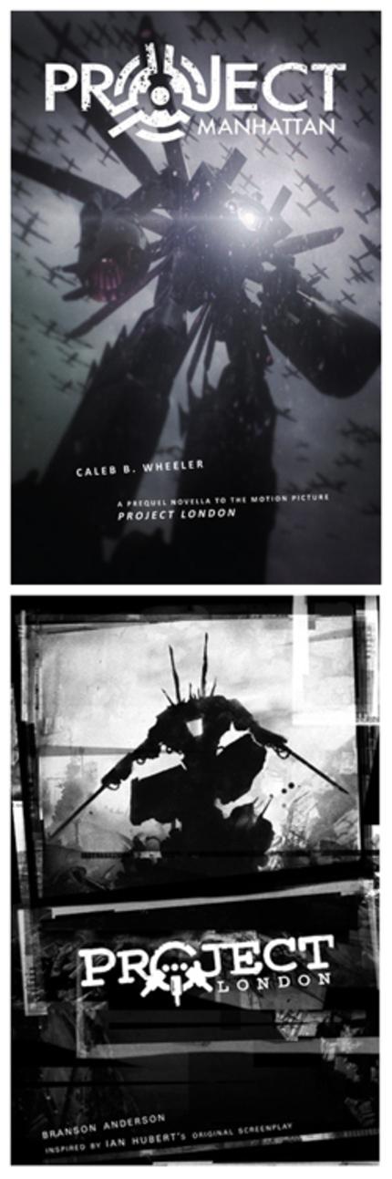 PROJECT MANHATTAN Novel & PROJECT LONDON Graphic Novel