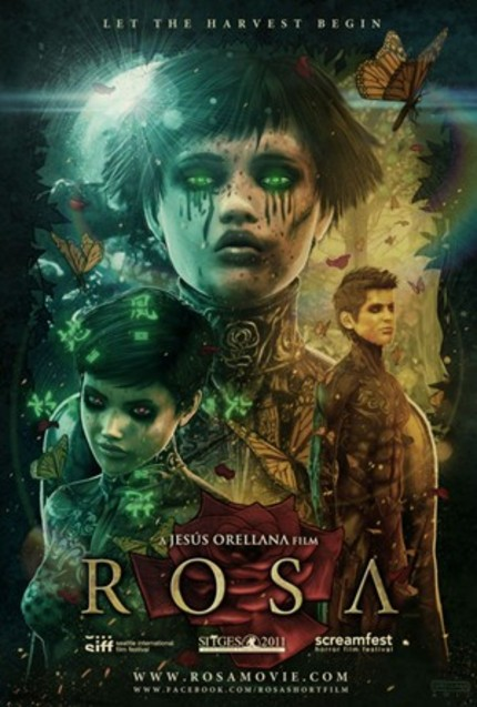 Short Film, Short Review: Jesus Orellana's ROSA