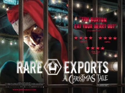 Santa for sale in the UK... RARE EXPORTS: A CHRISTMAS TALE comes to our shores with a new trailer!
