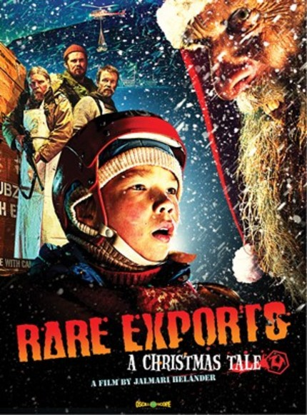 Bring Santa Home For Halloween! RARE EXPORTS Hits US Shelves October 25th And We've Got Two Copies To Give Away!