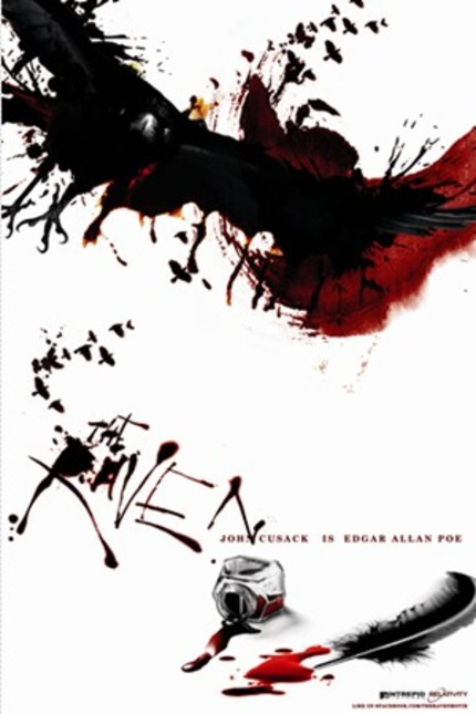 SDCC 2011: Official Poster And Fresh Stills From James McTeigue's THE RAVEN