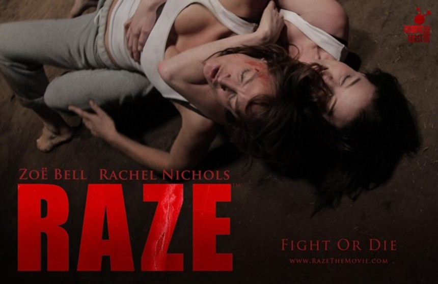 Fresh Images And Full Cast For Girl On Girl Fight Film RAZE
