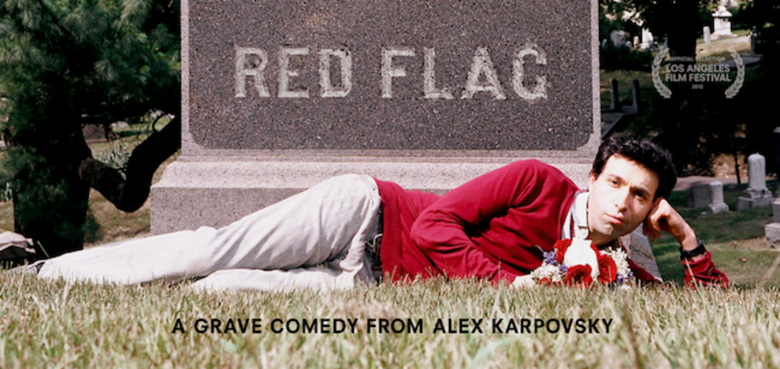 LA Film Fest 2012 Exclusive: First Character Posters for Alex Karpovsky's RED FLAG