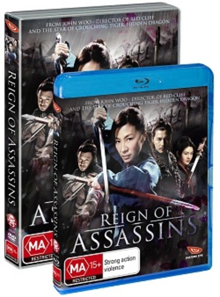 The brilliant REIGN OF ASSASSINS gets an Aussie release!