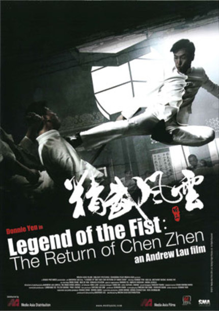 Well Go Picks Up LEGEND OF THE FIST: THE RETURN OF CHEN ZHEN For North America.