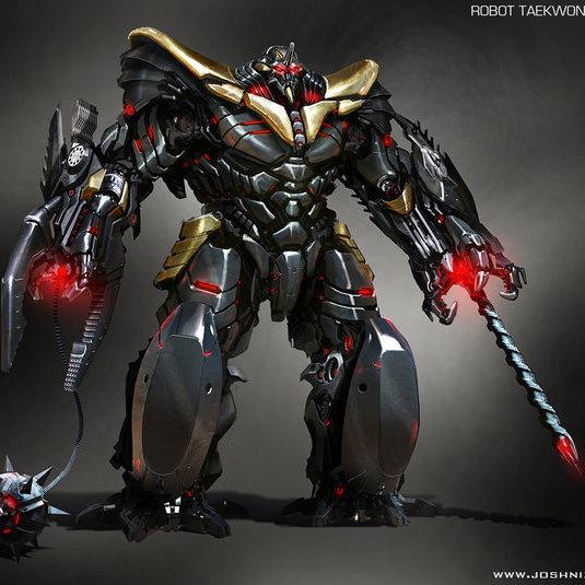 Concept Art Reveals The Enemies That Robot Taekwon V Could