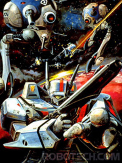 WB and Maguire hop on the SDF-1 and Robotech