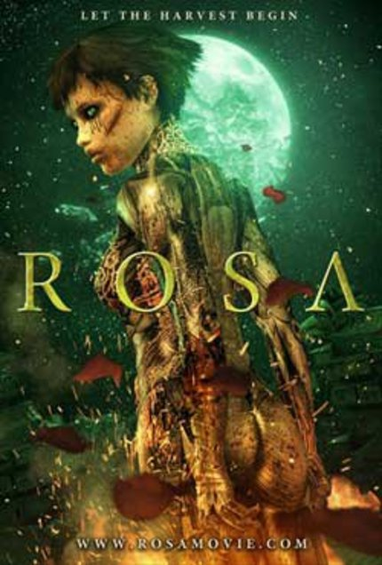 Dazzling Trailer For Spanish SciFi Animated Short ROSA