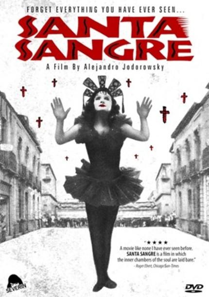 Jodorowsky's SANTA SANGRE Coming To BluRay!