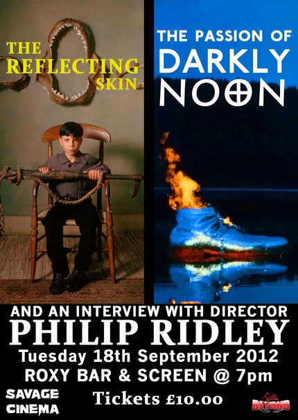 London! Get your Philip Ridley Fix with a Double Feature