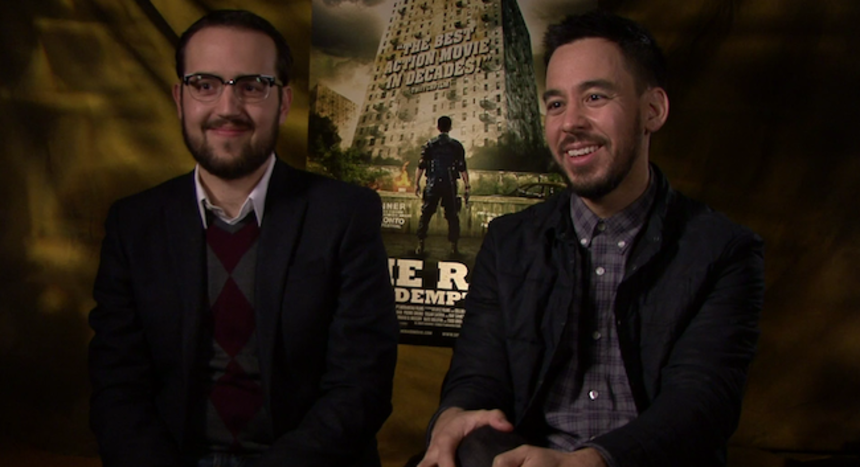 Video Interview: THE RAID: REDEMPTION Composers Mike Shinoda and Joseph Trapanese