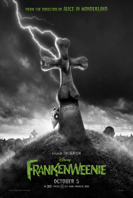 New One Sheet For Tim Burton's FRANKENWEENIE