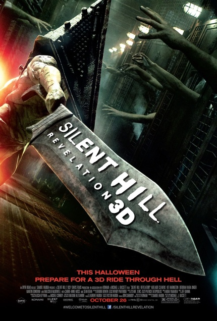The SILENT HILL: REVELATION 3D Poster Reveals Ehm... That The Film Is In 3D