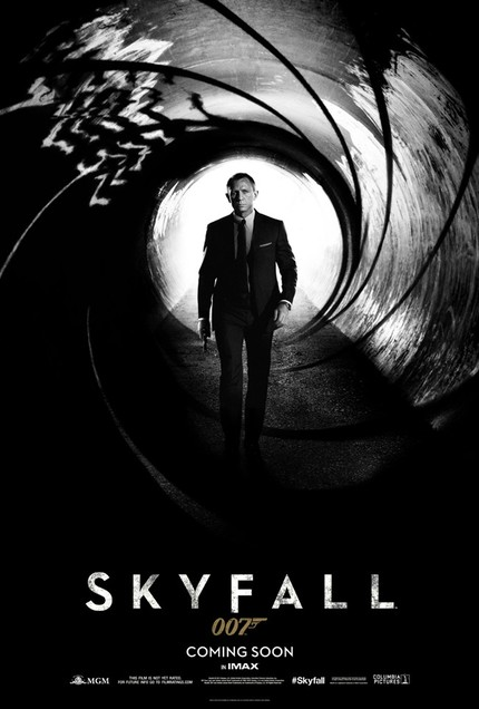 James Bond Is Coming At You In Classically Styled SKYFALL Poster
