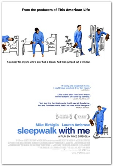 Trailer Debut for Mike Birbiglia's SLEEPWALK WITH ME