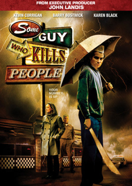 Win A Copy Of Horror Comedy SOME GUY WHO KILLS PEOPLE On DVD