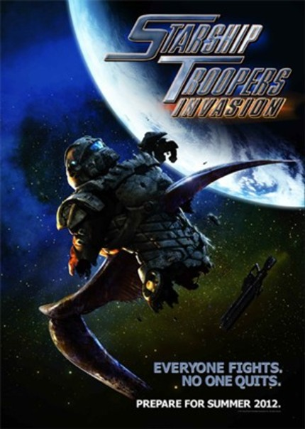 Lock And Load! First Teaser For Animated Film STARSHIP TROOPERS: INVASION