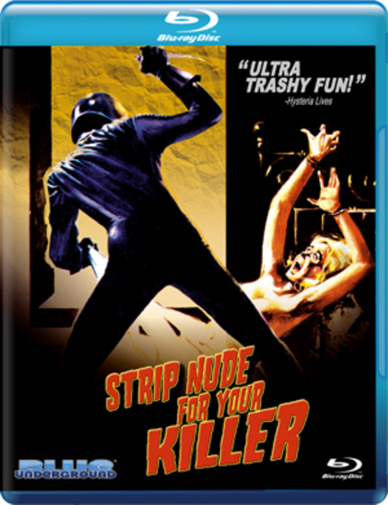 Giallo Showdown! STRIP NUDE FOR YOUR KILLER Blu-ray / THE GIRL IN ROOM 2A DVD Review