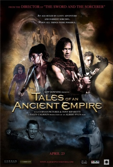 Red Band Trailer for Albert Pyun's 'Tales of an Ancient Empire'