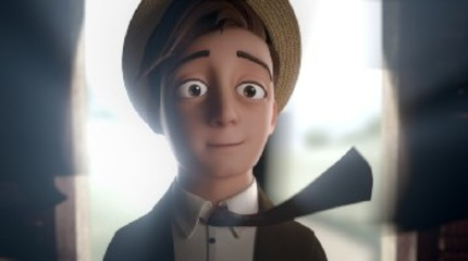 Enjoy The Oscar Winner For Best Animated Short Film - THE FANTASTIC FLYING BOOKS OF MR. MORRIS LESSMORE - In Full Here!