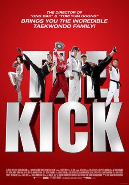 AFM 2011: English Trailer And Sales Art For Prachya Pinkaew's THE KICK
