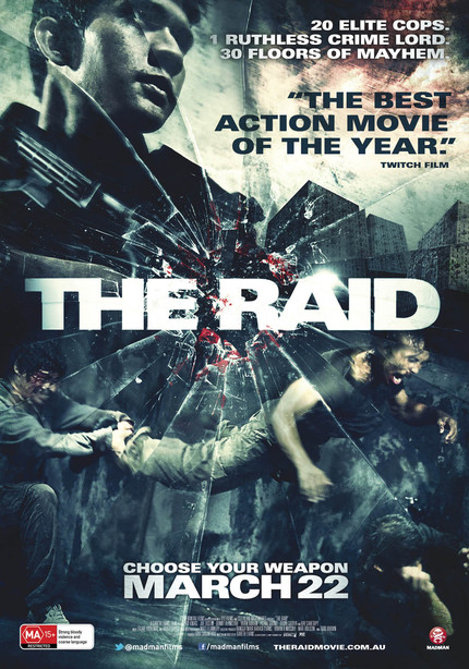 Madman Smashes Out An Australian Poster For THE RAID!