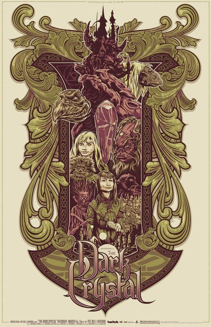 Hey Toronto! Win Phantom City Creative's Gorgeous Custom Poster For THE DARK CRYSTAL!