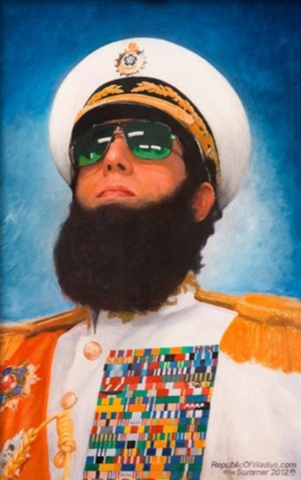 THE DICTATOR Gets A Job In New Clip