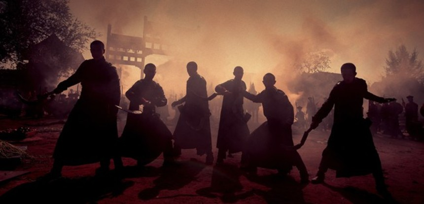 A Smoky Still From Andrew Lau's THE GUILLOTINES