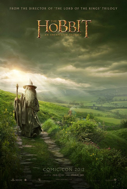 One Wizard, No Hobbits In First Poster For Peter Jackson's THE HOBBIT