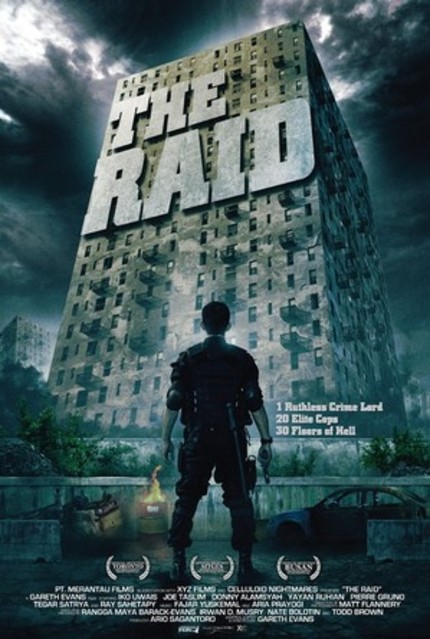 Axes And Bullets Abound In A Third Clip From THE RAID!