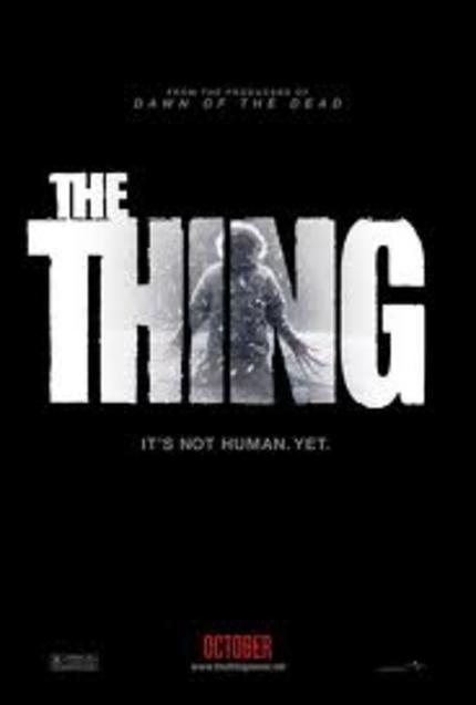 Man Is Still The Warmest Place To Hide. THE THING Trailer.