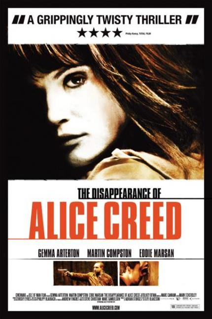 THE DISAPPEARANCE OF ALICE CREED Review