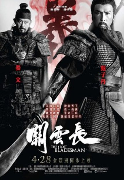 Third Trailer For THE LOST BLADESMAN, Plus See Donnie Yen Direct The Action