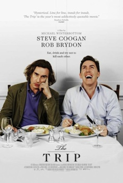 Steve Coogan & Rob Brydon Nosh & Clash In The Trailer For THE TRIP
