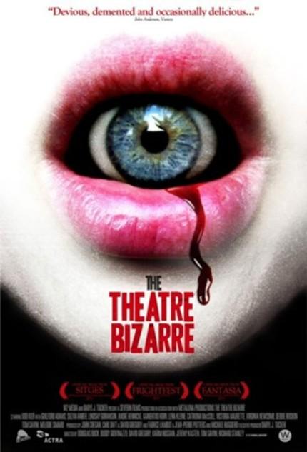 Watch THE THEATRE BIZARRE World Premiere Video